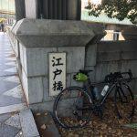 銀座までサイクリング(仕事)に行ってきました。