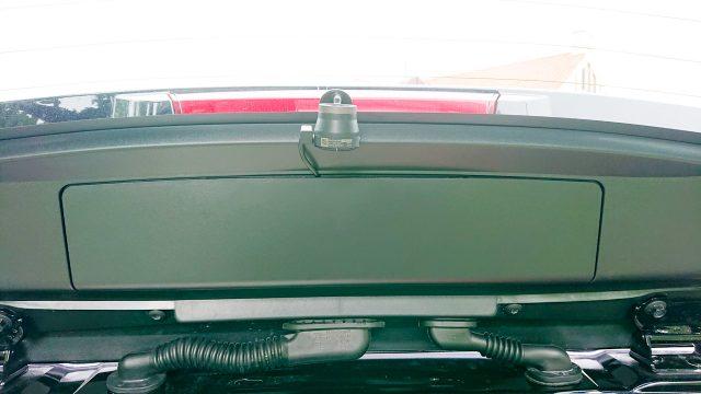 カローラツーリングにドライブレコーダーとレーダー探知機を設置 Garmin DASH CAM 46Z コム鉄器 ZERO 706V