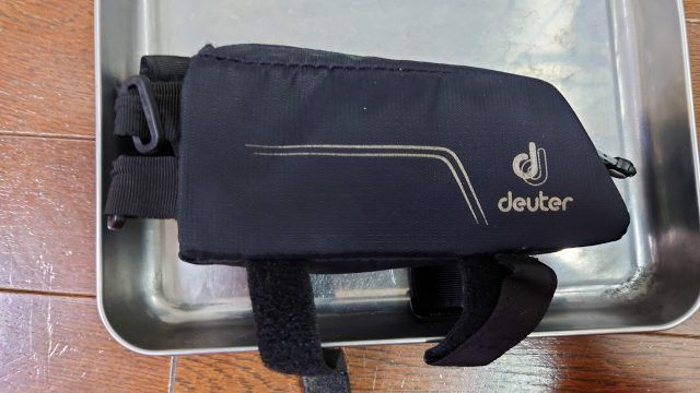 Deuter エナジーバッグのファスナーが硬いので改善するかチャレンジ