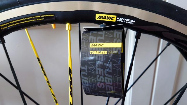 イギリスのProbikekitからMAVICのホイールを購入(MAVIC KSYRIUM PRO UST)