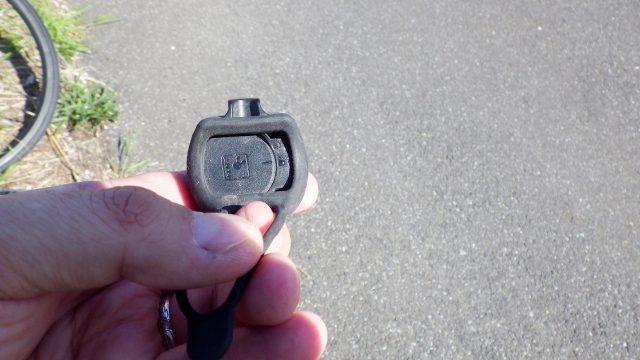 ガーミン スピードセンサーの電池交換