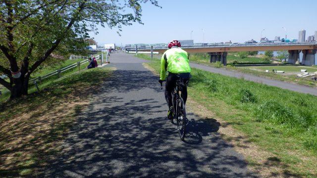 荒川サイクリングロード サイクリング 右岸