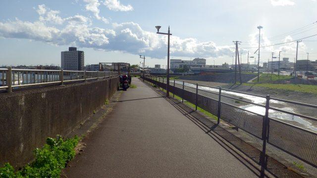 帰れま61000とサイコン振り切りライド 江戸川 健康の道