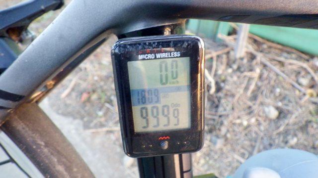 帰れま61000とサイコン振り切りライド 荒川サイクリングロード 左岸