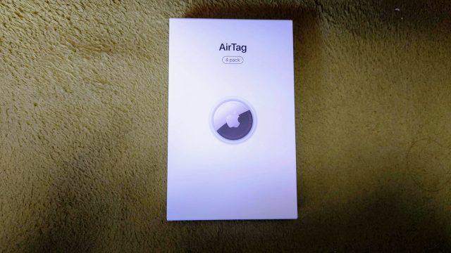 Apple AirTag 到着 開封