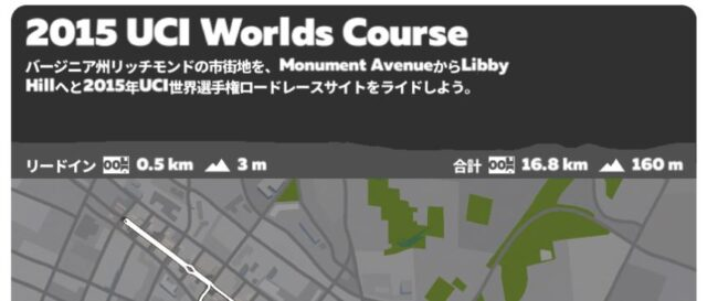 ZWIFT ルート選択画面 アップデート