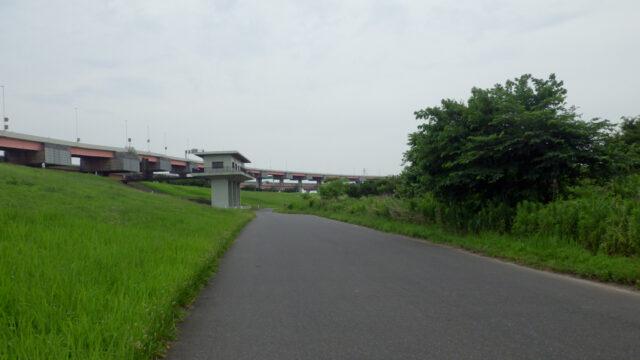サイクリング解禁+久しぶりの外ライド 荒川サイクリングロード 左岸