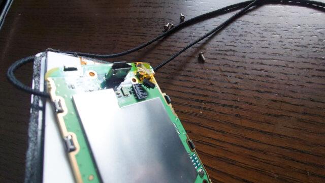 Garmin Edge 520Jを修理 バッテリー交換 失敗